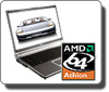 AMD laptop logo AMD Phenom II 550 3.1GHZ DUAL CORE CUSTOM DESKTOP PC